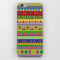 neil young iPhone & iPod Skins featuring Forever Young by Bianca Green