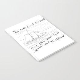 Adjust Your Sails Notebook