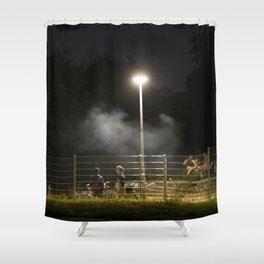 urban mystery no.1 Shower Curtain