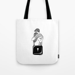 Lock With You Tote Bag