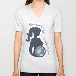 Earth Mother Unisex V-Neck