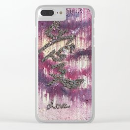 Live. Love. Laugh Clear iPhone Case