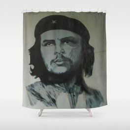 Che Guevara Shower Curtain