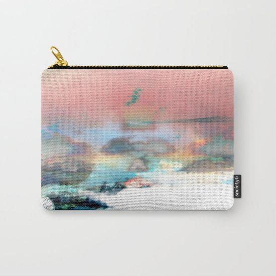 Clouds like Splattered Watercolor Carry-All Pouch