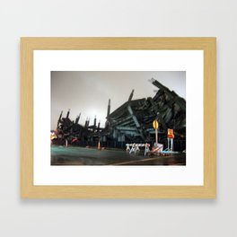 Demo lite Framed Art Print