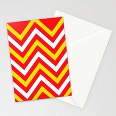 Chevron Sun Blast Stationery Cards