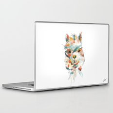 + Watercolor Alpaca + Laptop & iPad Skin