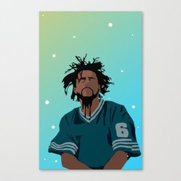 J Cole Canvas Print