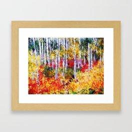 Title: Glorious Autumn Colors  Framed Art Print