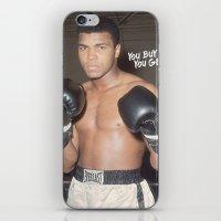 ali gulec iPhone & iPod Skins featuring Ali #1 by YBYG