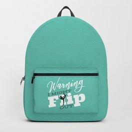 Gymnast Flip Backpack