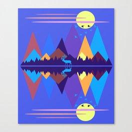 Mountain Scene #2 Canvas Print