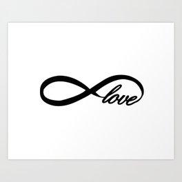 Eternity Love Art Print