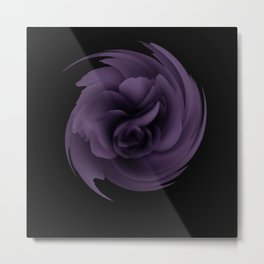 Purple rose 15 Metal Print