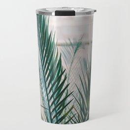 Botanical Garden   Fine art photography print   Shades of green and blue Travel Mug