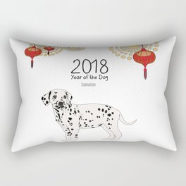 Year of the Dog - Dalmatian Rectangular Pillow