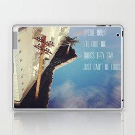 Upside Down Inspiration Laptop & iPad Skin