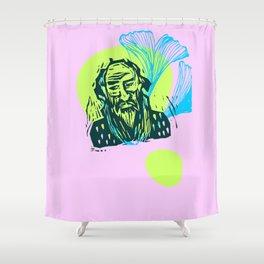 Mr. Dostoevsky Shower Curtain