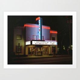 North Bend Cinema Art Print