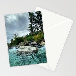 Pacific Northwest Soak by Seasons Kaz Sparks Stationery Cards