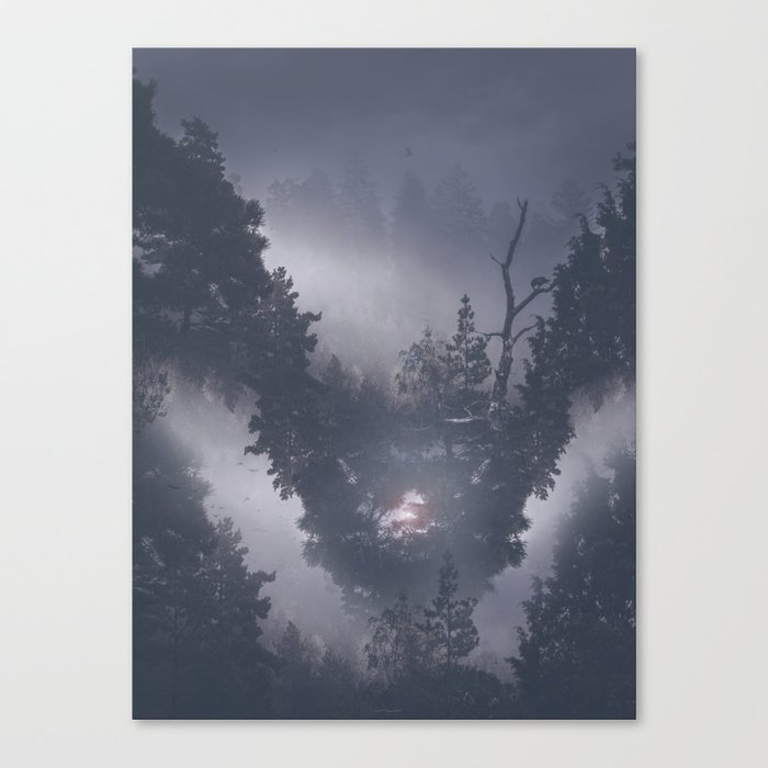Forest dreams II Canvas Print