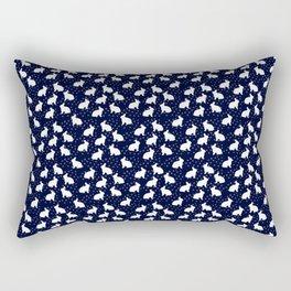 Bunny Lover Rectangular Pillow