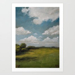 Ireland 45/100 Art Print