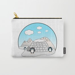 Cute penguins Carry-All Pouch