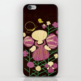 Floral Flower Artprint iPhone Skin