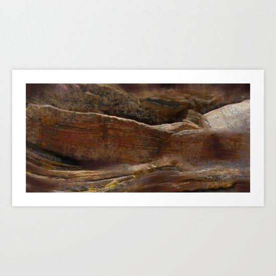 rocky II Art Print