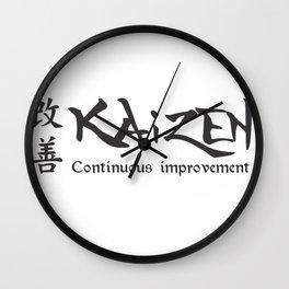 Kaizen Wall Clock