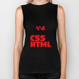 CSS and HTML Biker Tank