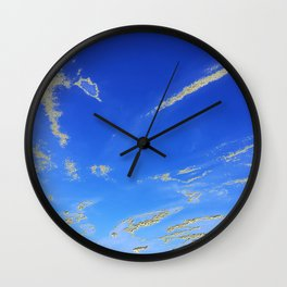 Fly, in the sky, like a butterfly ... Wall Clock