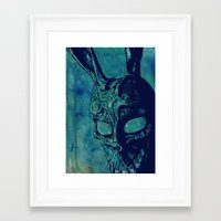 donnie darko Framed Art Prints featuring Donnie Darko by Giuseppe Cristiano