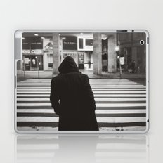 black hood Laptop & iPad Skin