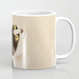 Minhwa: cat & butterfly (Korean traditional/folk art) Coffee Mug