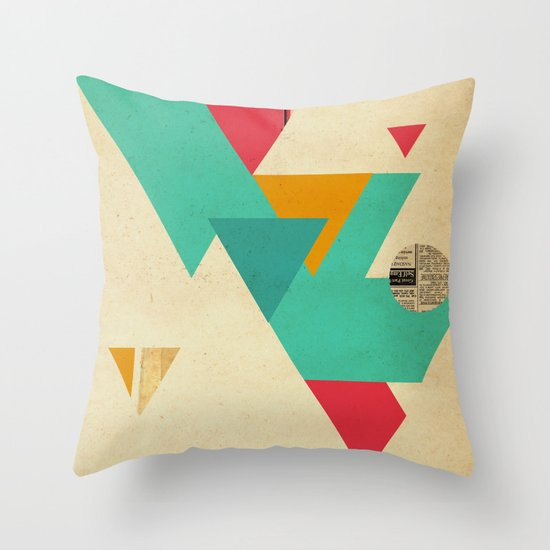 Monster Teeth I Throw Pillow