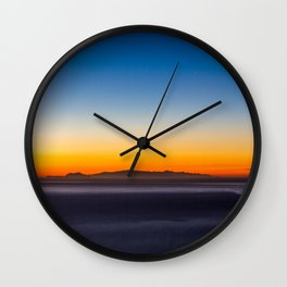Happy Little Sunset Wall Clock