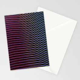 lines and patterns wing light painting Stationery Cards