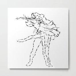Ballet dancers Tchaikovsky : Swan Lake Metal Print