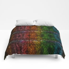 Colored Patchwork Comforters