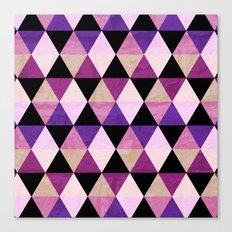 Heavy Pink Canvas Print