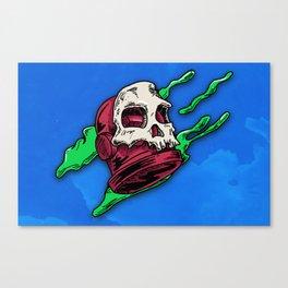 Skully... Canvas Print