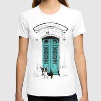 shameless T-shirts featuring Shameless Dog by Ninostchka Coronado