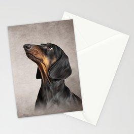 Drawing Dog breed dachshund 5 Stationery Cards