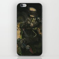 over the garden wall iPhone & iPod Skins featuring Over the Garden Wall by Patt Kelley