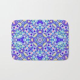 Arabesque kaleidoscopic Mosaic G513 Bath Mat