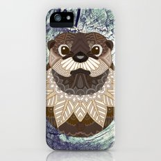 Ornate Otter iPhone SE Slim Case