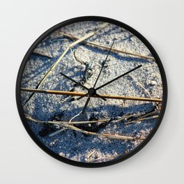 Shadows In The Sand Wall Clock