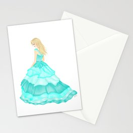 The Teal Dress Stationery Cards